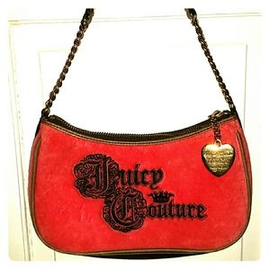 Old Pink authentic Juicy Couture purse